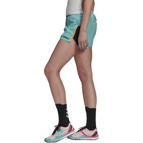 adidas TERREX Primeblue Trail shorts Damer, turkis